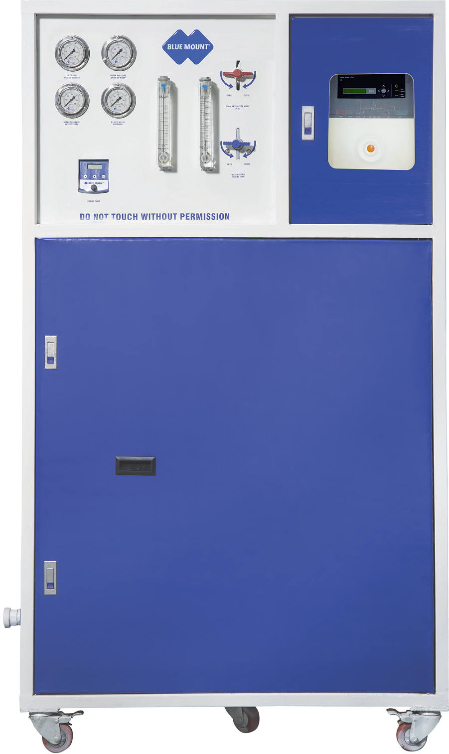 Blue Mount Grand 500 Industrial Alkaline RO + UV Water Purifier