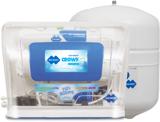 Blue Mount Crown UTS Alkaline RO + UF Water Purifier