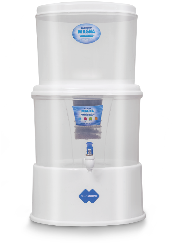 Blue Mount Magna Gravity Non-Electrical Mineral Water Purifier