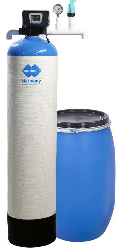 Blue Mount Harmony Automatic Water Softener 6000