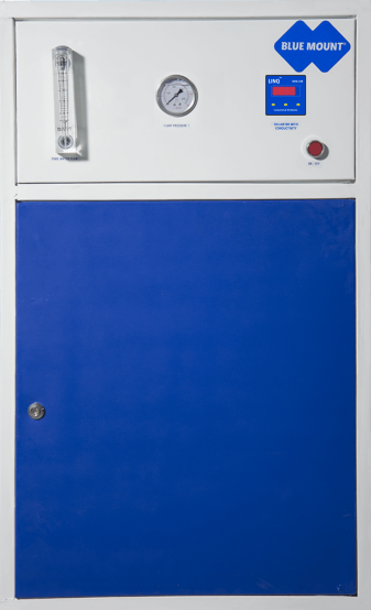 Blue Mount Industrial RO + DM Plant 50 LPH Water Purifier