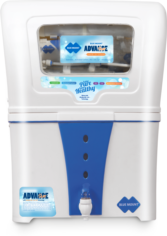 Blue Mount Advance Star Alkaline RO + UV + UF Water Purifier