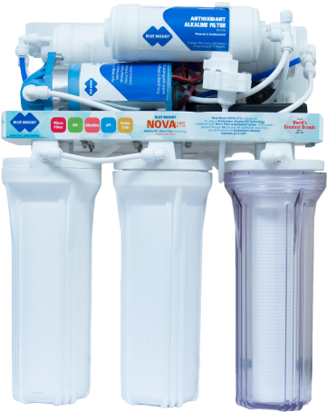Blue Mount Nova UTS Alkaline RO + Micro Filter Water Purifier