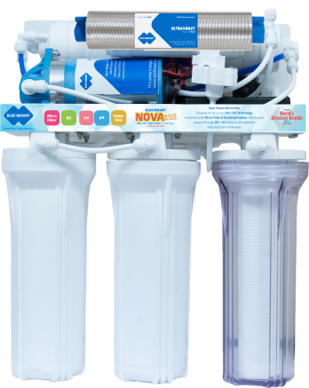 Blue Mount Nova Plus Alkaline RO + UV + Micro Filter Water Purifier